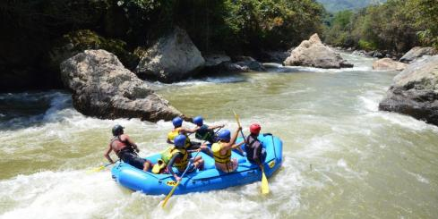 Whitewater Rafting in Colombia on the Rio Buey