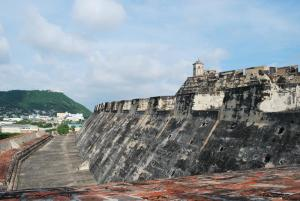 Cartagena\'s Castillo San Felipe in Colombia