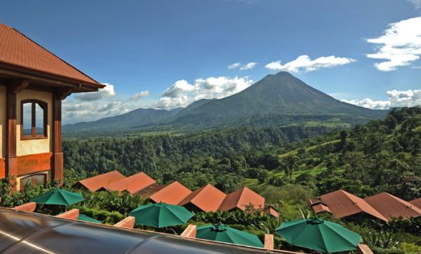 Stunning views of Arenal