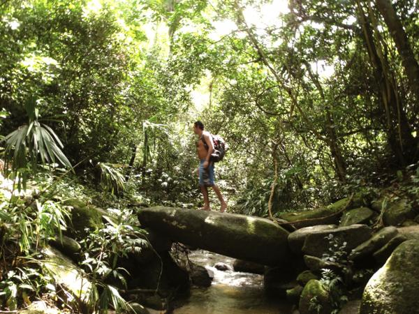 Hiking in Tayrona National Park