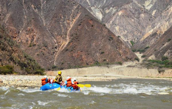 Rafting in Colombia\'s Chicamocha Gorge