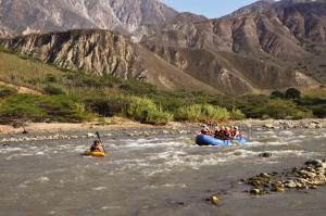 Rafting Colombia\'s Chicamocha Gorge