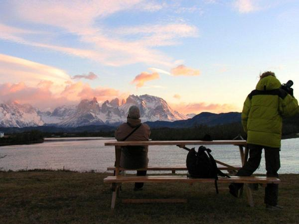 Take in the views of Torres del Paine while staying with Cabanas del Paine