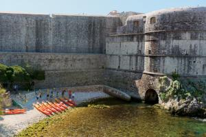 Kayak the historic waterways of Dubrovnik