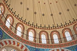 The stunning architecture of Istanbul's Blue Mosque