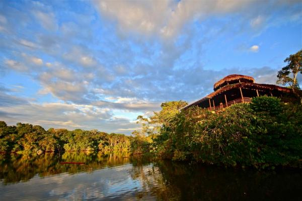 Visit the recently remodeled La Selva Jungle Lodge in the Ecuador Amazon