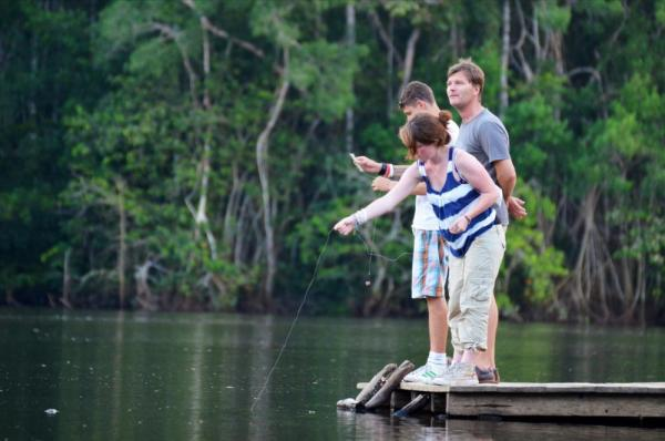 La Selva Jungle Lodge offers activities for the entire family