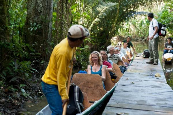 Explore the Amazon at La Selva Lodge with English-speaking naturalists