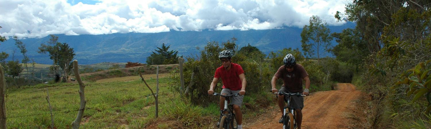 Multisport in Colombia tour
