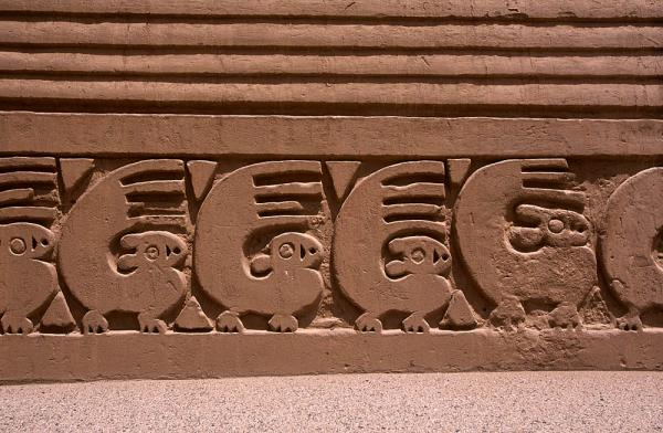 Northern Peruvian Ancient Carvings
