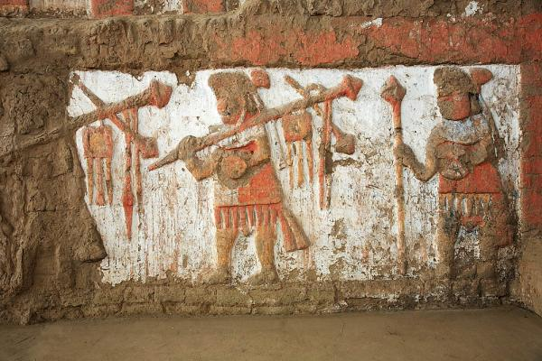 Ancient Wall Carvings in Northern Peru
