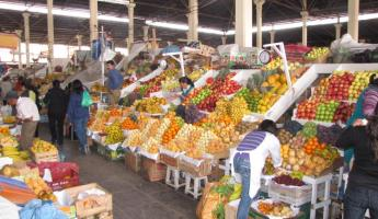 The local market in Cusco