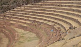 Terraces in the Sacred Valley