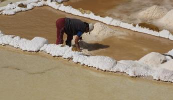 Salt mines in the Sacred Valley