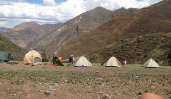 Camping on the Cachiccata Trek