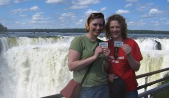 Look where we went for spring break - Iguazu Falls!