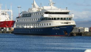 The M/V Mare Australis in Ushuaia