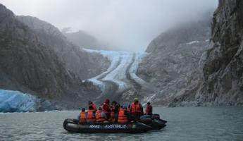 Viewing Pia Glacier
