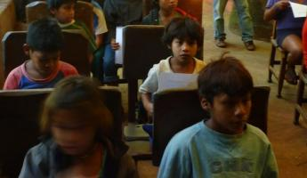 Children in Iguazu