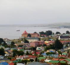 Punta Arenas City from viewpoint