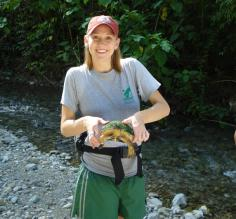 Found a turtle during a jungle trek in Costa Rica