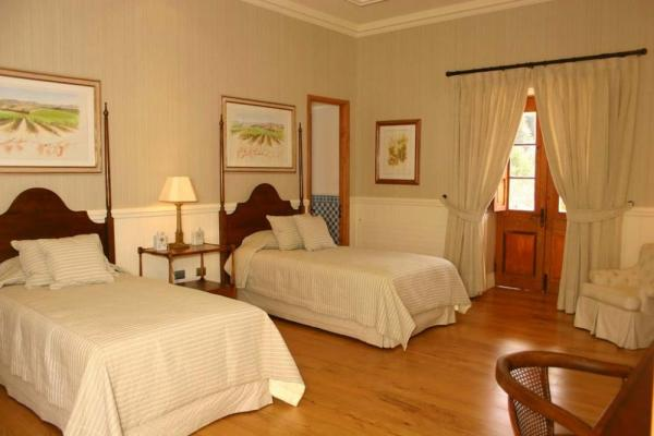 Guest rooms are fitted with a king size bed or two single beds