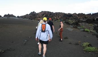 Hike to the top of Bartolome Island