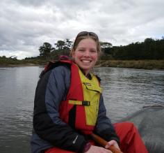 Canoe ride on the Beagle Channel