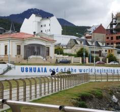 Leaving Ushuaia for Antarctica