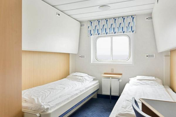 Twin cabin on the Ocean Nova