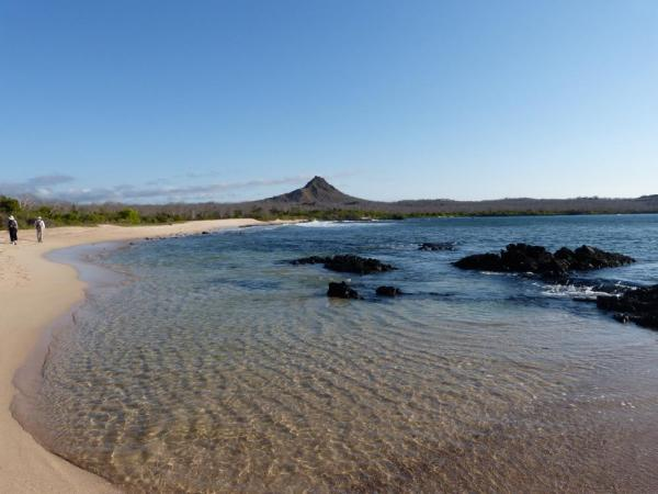 Beautiful Galapagos landscape