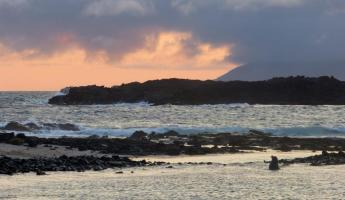Galapagos sunset