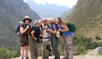 The crew on the Inca Trail.