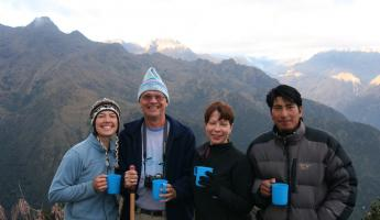 Coffee on the peak