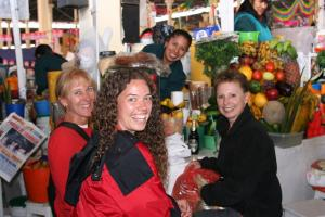 At the local market in Cusco