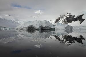 Antarctica reflected