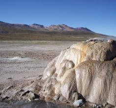 Formations in the Atacama