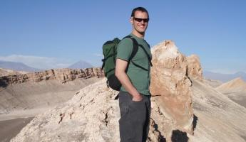 Mike in the Atacama