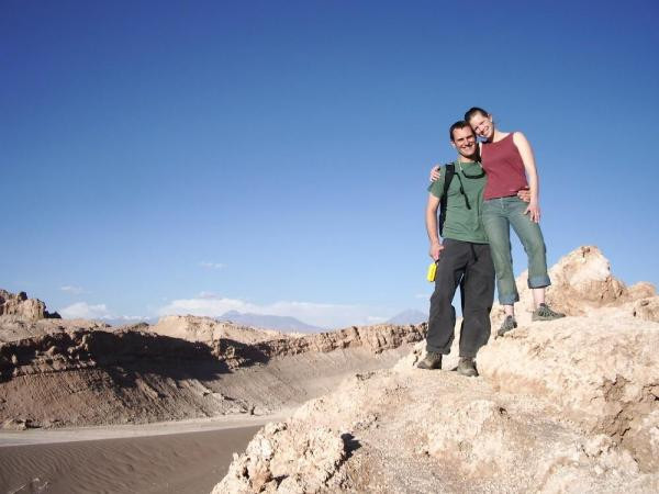 On top of the world in the Atacama Desert, Chile