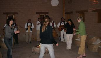 More dancing at the Terrantai Lodge