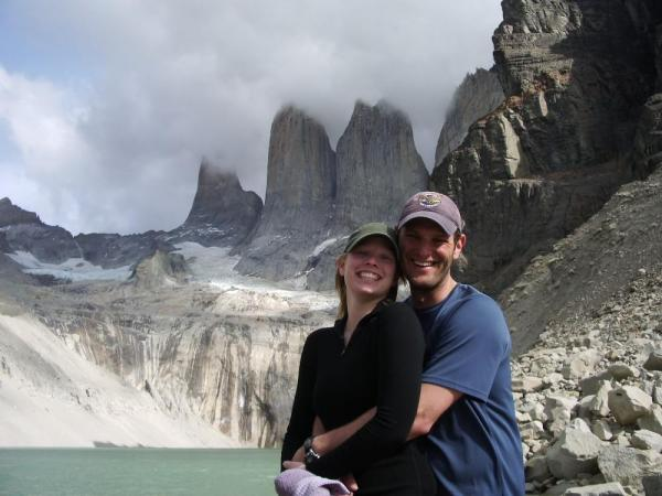 The base of the Towers in Torres del Paine.