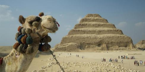 A camel ride through the pyramids makes it a truly unique experience.