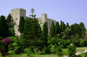 Enjoy the beautiful grounds of the Rhodes Citadel