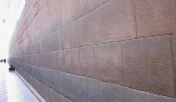 Inca walls all over Cusco