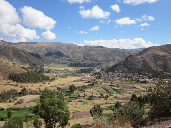 Heading into the Sacred Valley