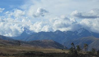 Beautiful scenery in the Sacred Valley