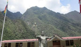 Aguas Calientes- we're almost to Machu Picchu!