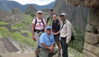 Our tour group for Peru- they were great!