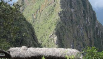 The gate to Huayna Picchu - we'll hike that tomorrow