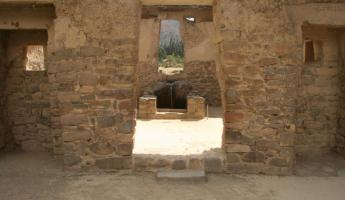 Water purification pools at Ollantaytambo ruins
